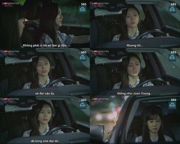 Lee Jung Kyung nói với Song Ahrằng mình sẽ chờ Park Joon Young.