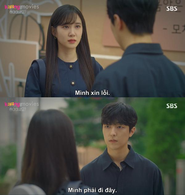 Song Ah tránh mặt Dong Yoon.