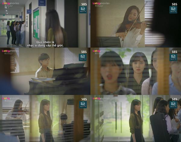 Tự tin của Song Ah bị 'rút cạn' mỗi lần đối diện với Jung Kyung.
