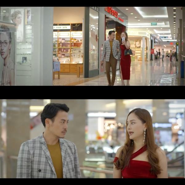 'Trói buộc yêu thương' tập 6: Đi shopping với vợ 'mặt nặng như chì', vừa thấy tình cũ, mắt Trương Thanh Long đã sáng như sao 0