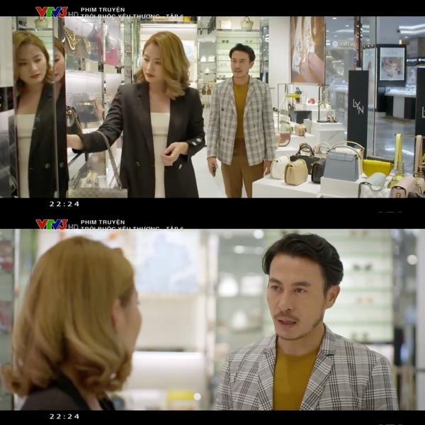 'Trói buộc yêu thương' tập 6: Đi shopping với vợ 'mặt nặng như chì', vừa thấy tình cũ, mắt Trương Thanh Long đã sáng như sao 1