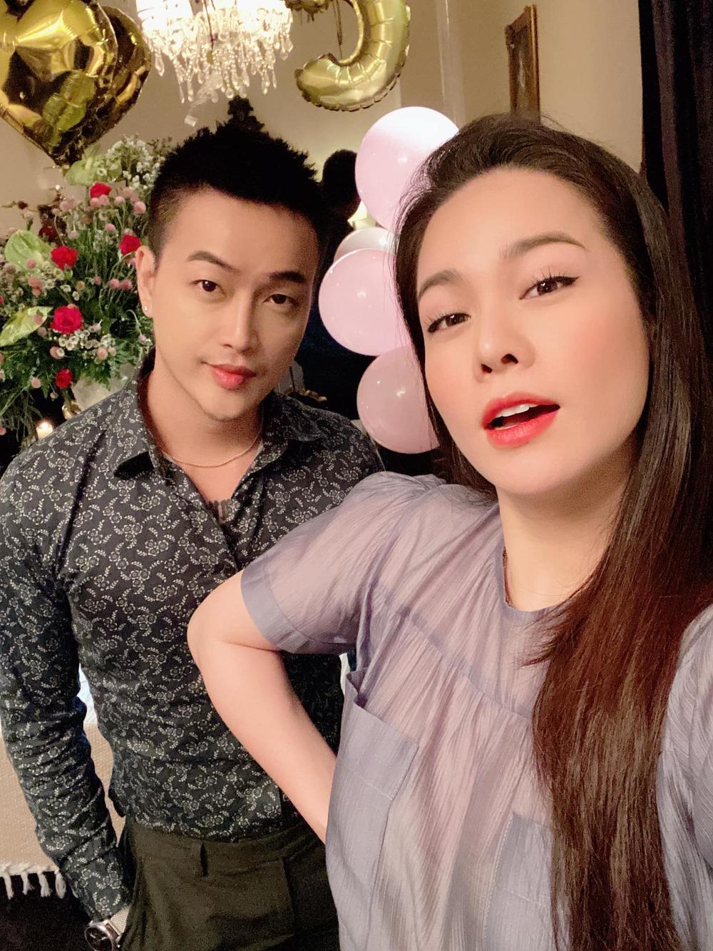 TiTi và Nhật Kim Anh.