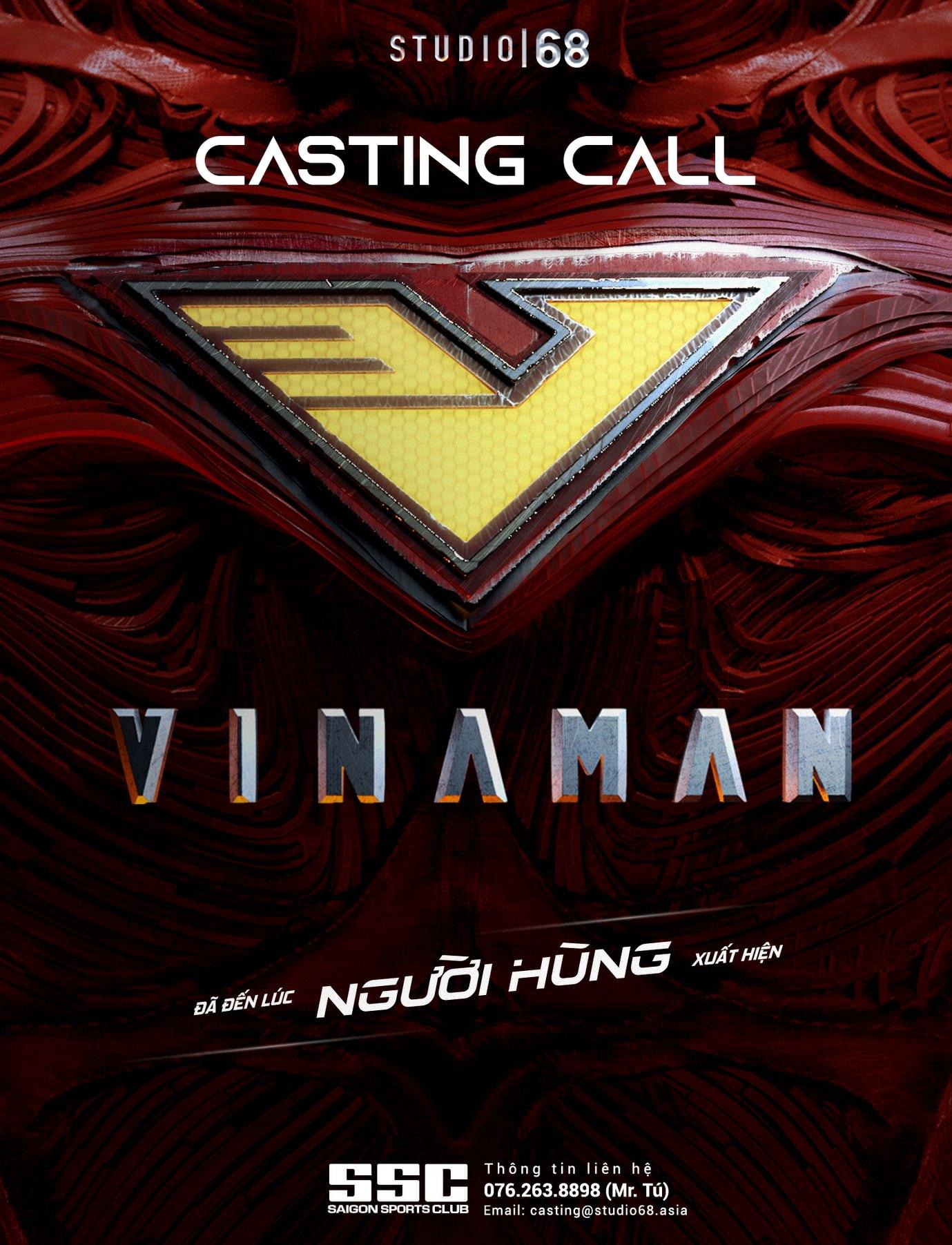 Ngô Thanh Vân đã khởi động vòng casting cho dự án phim mới VINAMAN