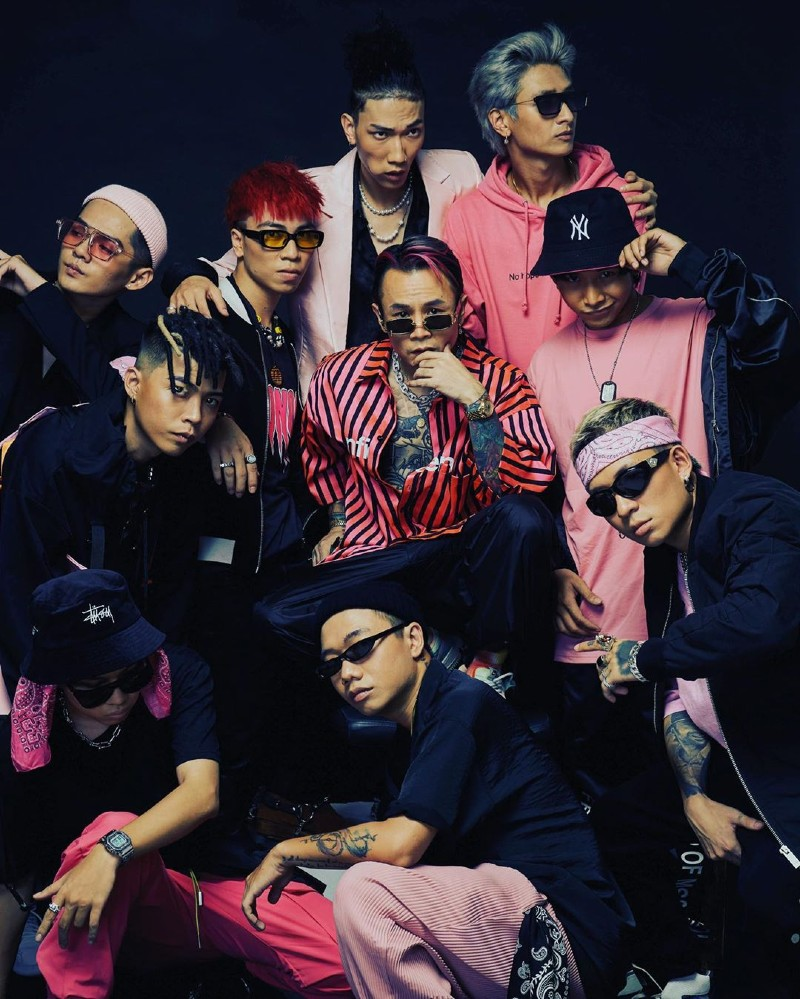 Binz hiện đang là HLV của chương trình Rap Việt.