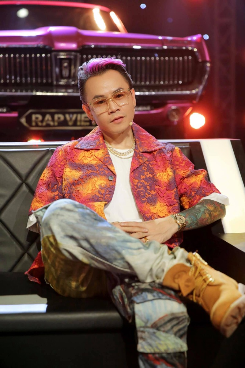 Sản phẩm mới của nam rapper sẽ tiếp tục có sự góp sức của 'phù thủy âm nhạc' Touliver.