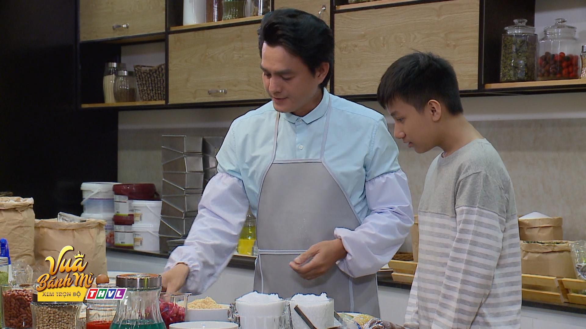 'Vua bánh mì' tập 8: Đúng là 'cha nào con nấy', con trai Cao Minh Đạt cũng sở hữu tài nghệ làm bánh từ cha 0