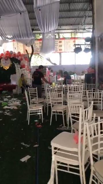 Hình ảnh ngổn ngang tại nhà hàng sau vụ bị bùng 150 mâm cỗ cưới: Chủ quán thẫn thờ... 3