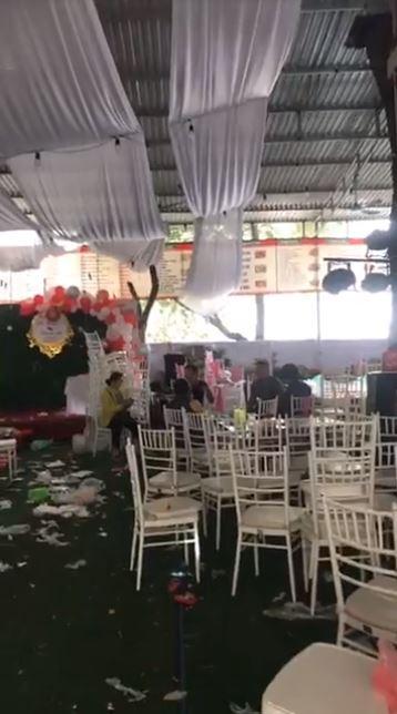 Hình ảnh ngổn ngang tại nhà hàng sau vụ bị bùng 150 mâm cỗ cưới: Chủ quán thẫn thờ... 2
