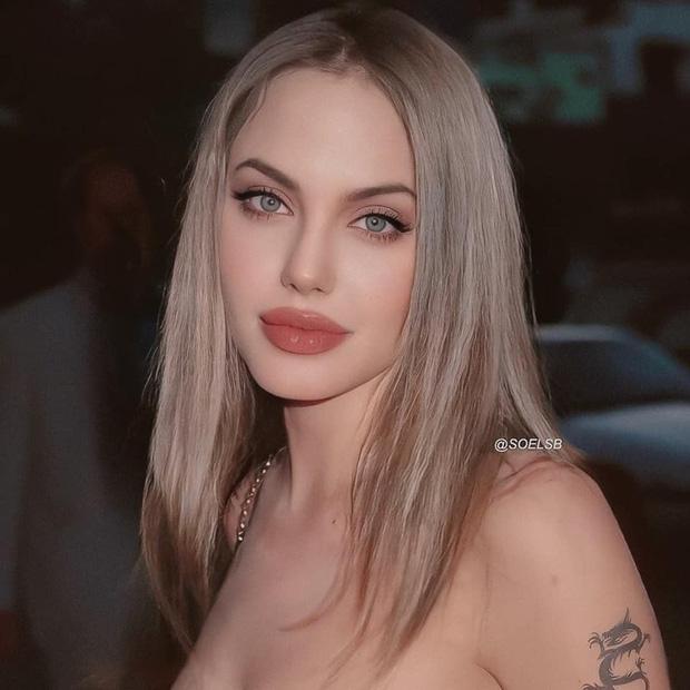 Rần rần hình Angelina Jolie xinh đẹp kinh diễm nhưng hóa ra chỉ là 'một cú lừa' 0