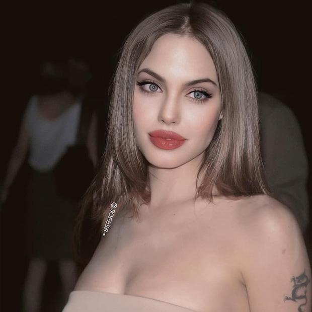 Rần rần hình Angelina Jolie xinh đẹp kinh diễm nhưng hóa ra chỉ là 'một cú lừa' 1