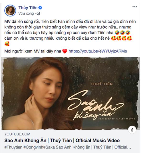 Thủy Tiên chính thức tái xuất', MV sâu sắc nhưnglời kêu gọi 'cày view' của nữ ca sĩ gây chú ý! 2