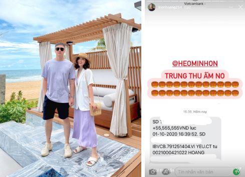 Heo Mi Nhon tặng chồng quà Trung thu to đùng!