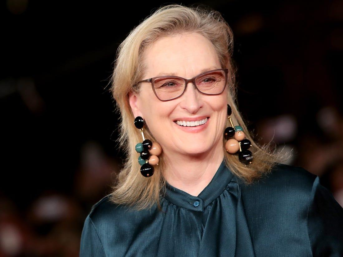 Vị trí thứ 5 là minh tinh gạo cội Meryl Streep.
