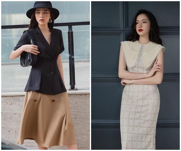 Soi gu thời trang 'bạn gái tin đồn' em chồng Hà Tăng - Hiếu Nguyễn: Kín bưng vẫn quyến rũ 3