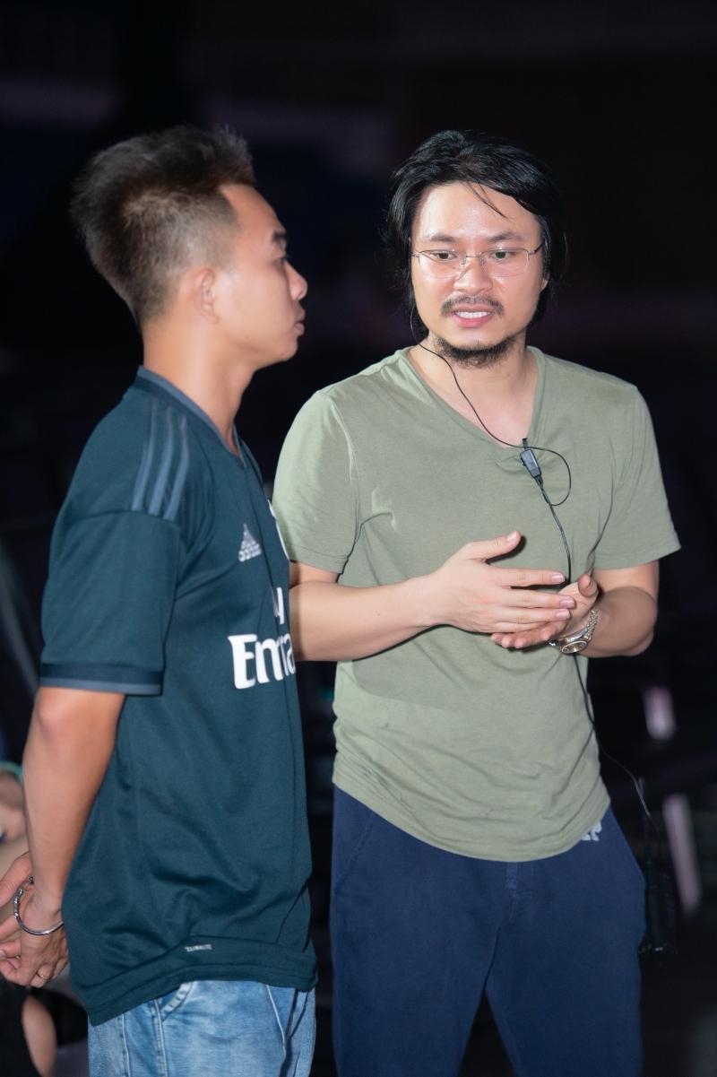 Giám đốc âm nhạc Phúc Bồ và đạo diễn Nhật Nam