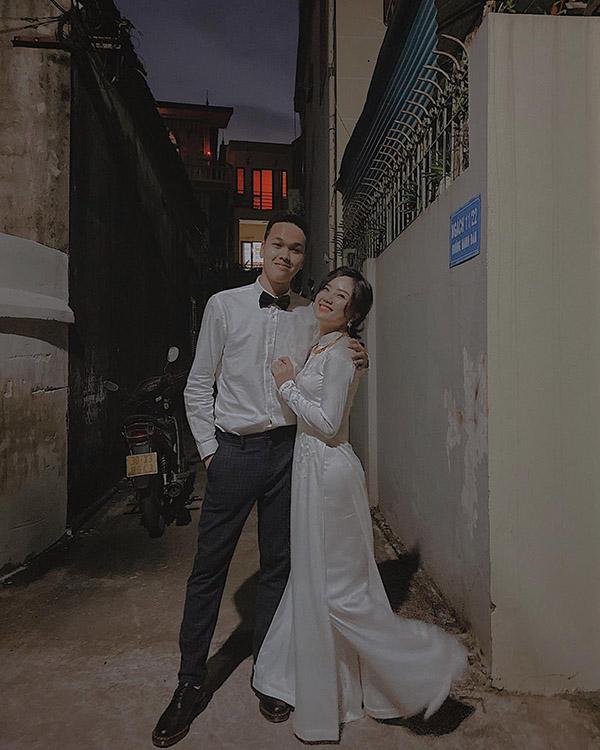 Hình ảnh hiếm hoi mà vợ sắp cưới của Chim Sẻ Đi Nắng chia sẻ.