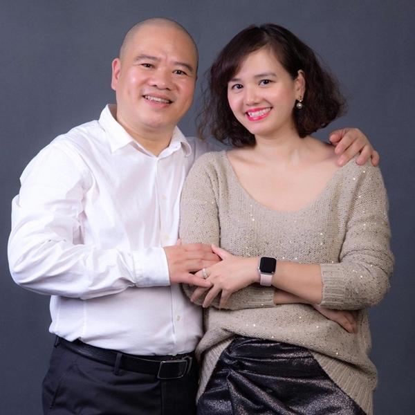 Cặp vợ chồng cô Giang Linh - chú Trung Hải đang nổi như cồn trên mạng xã hội TikTok.