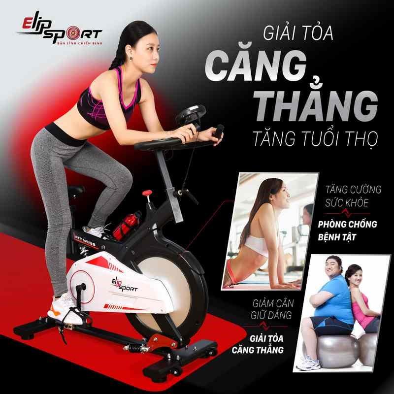 Những tác dụng mà máy tập thể dục đạp xe mang lại