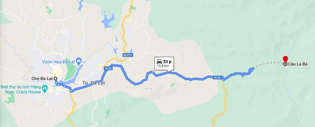 Google map chỉ dẫn.