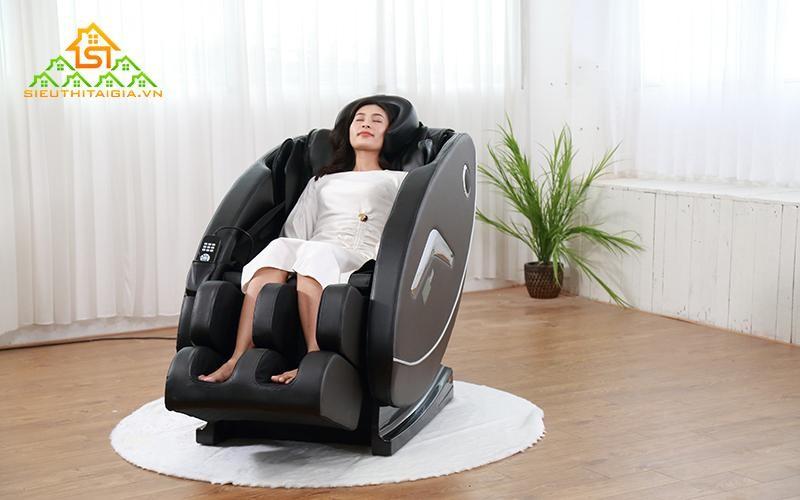 Sử dụng máy mát xa giúp người dùng dễ chìm vào giấc ngủ hơn