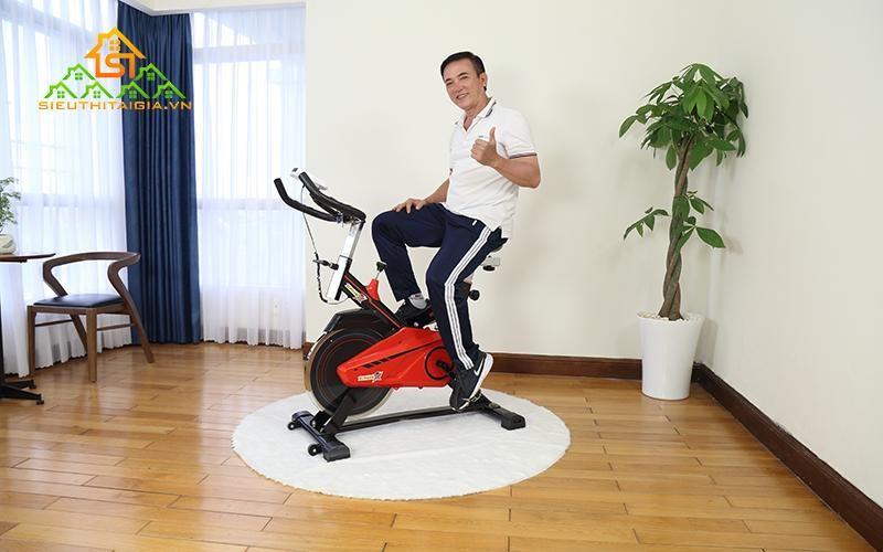Lựa chọn xe đạp tập sieuthitaigia.vn thương hiệu uy tín