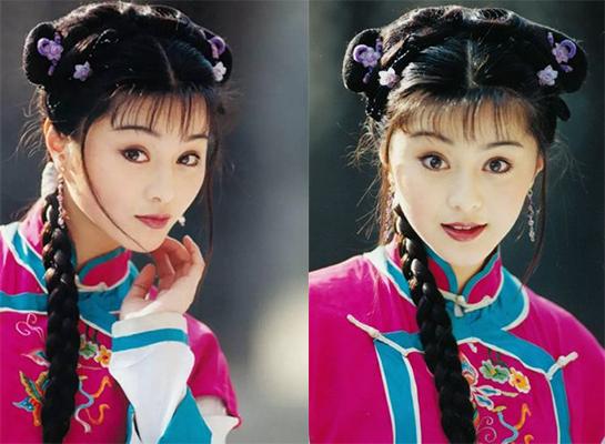 Phạm Băng Băng từng vào vai Kim Tỏa - người hầu của Hạ Tử Vy (Lâm Tâm Như) trong Hoàn Châu cách cách.