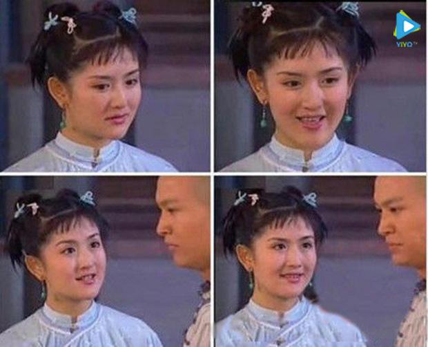 Tạ Na từng đóng rất nhiều vai người hầu.