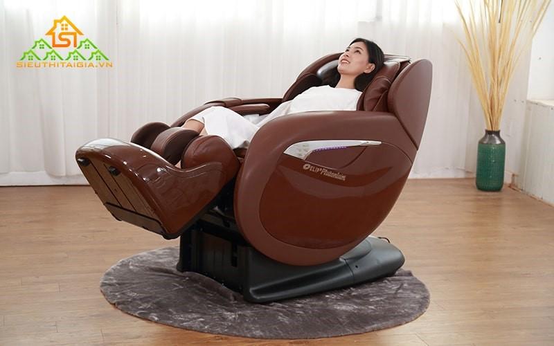 Dòng ghế mát xa 3D cho phạm vi mát xa rộng hơn