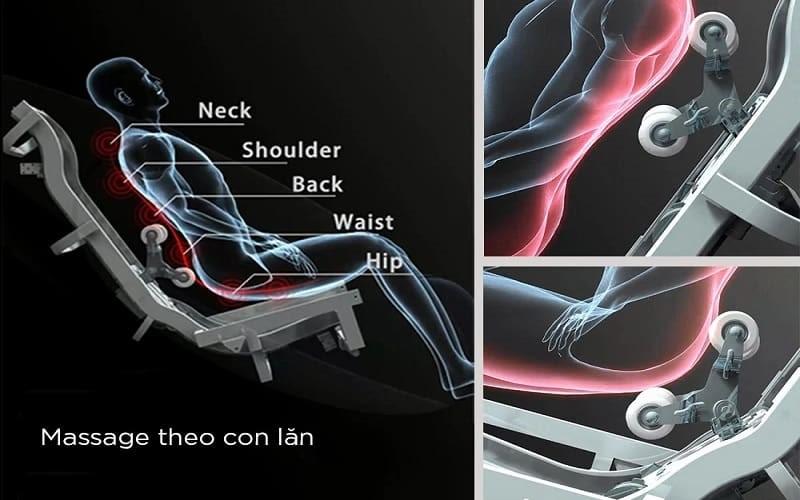 Ghế mát xa 4D cho những trải nghiệm vượt trội