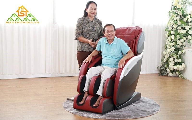 Ghế mát xa rất tốt cho những người lớn tuổi
