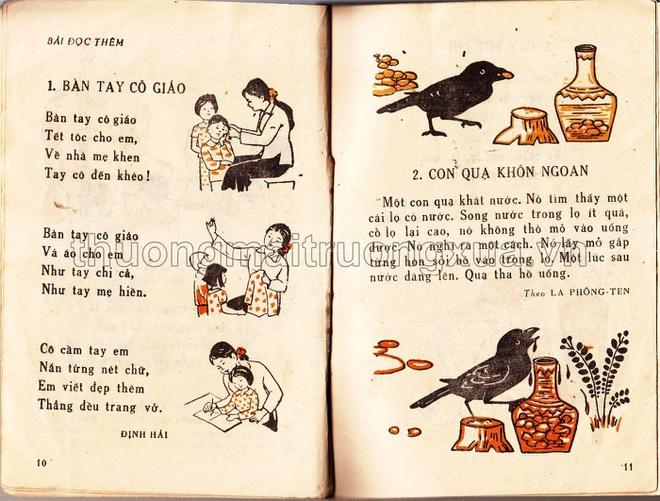 Con quạ không ngoan là câu chuyện được sử dụng rất nhiều trong sách giáo khoa kể cả các bộ sách sau này