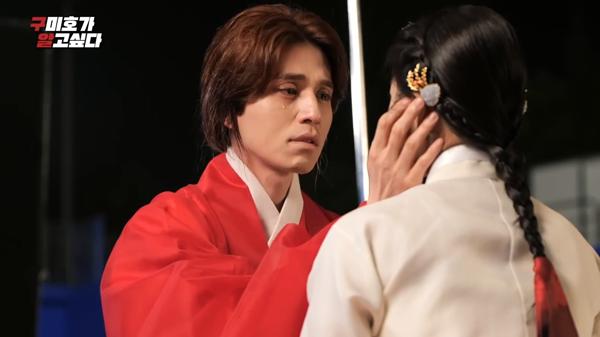 'Bạn trai tôi là hồ ly': Xúc động cảnh Lee Dong Wook hôn Jo Bo Ah trên trường quay giữa thời tiết lạnh giá 5