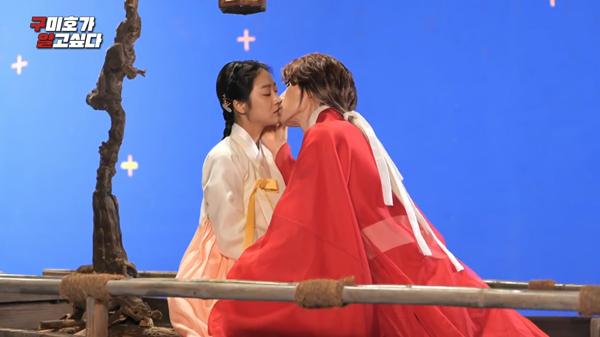 'Bạn trai tôi là hồ ly': Xúc động cảnh Lee Dong Wook hôn Jo Bo Ah trên trường quay giữa thời tiết lạnh giá 7