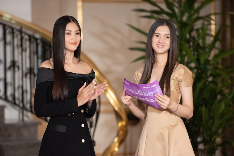 Gặp mặt Top 35 Hoa hậu Việt Nam 2020, Hoa hậu Tiểu Vy diện kín đáo vẫn đẹp lấn lướt 4