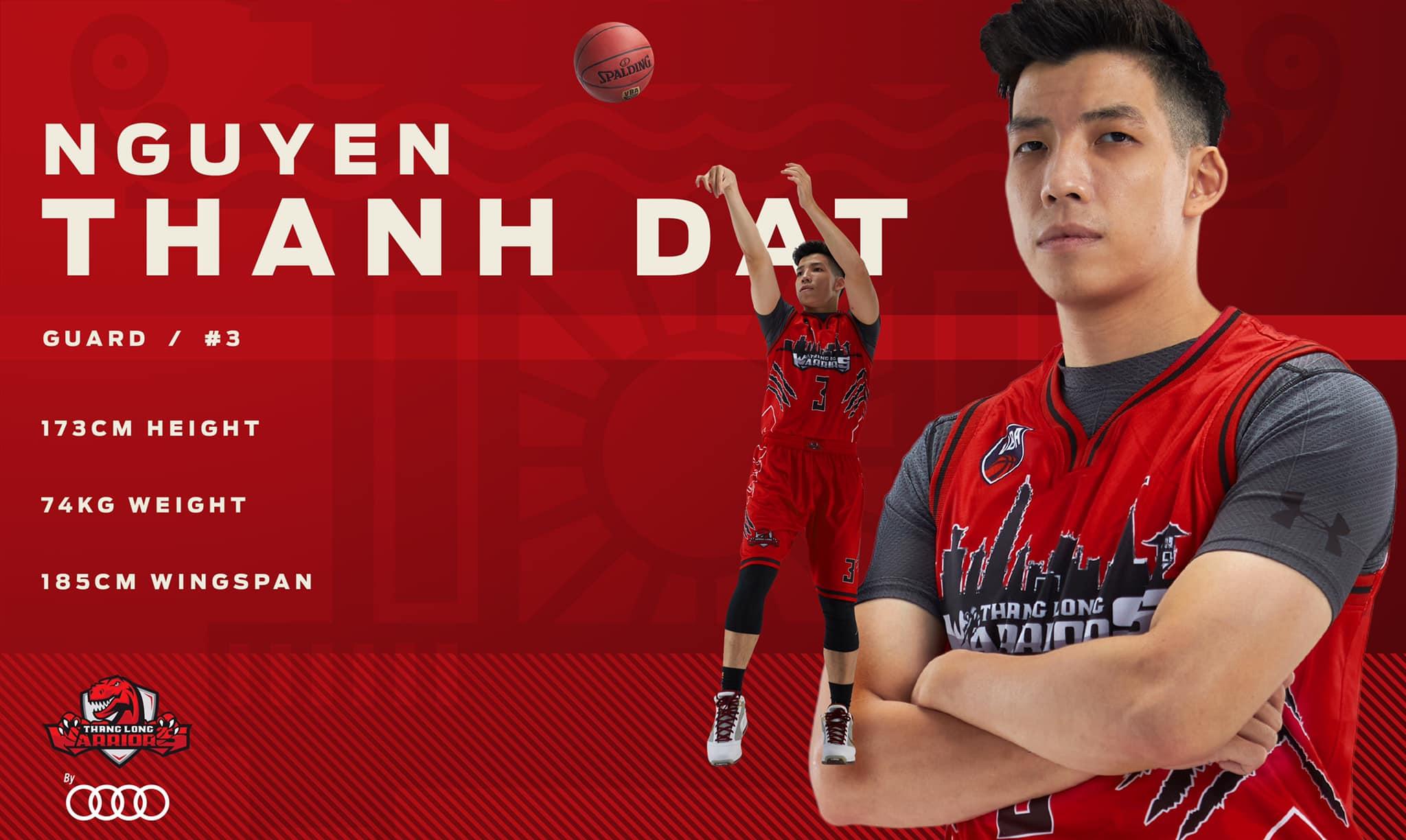 Đội hình chính thức ở VBA 2020 của Thang Long Warriors 1