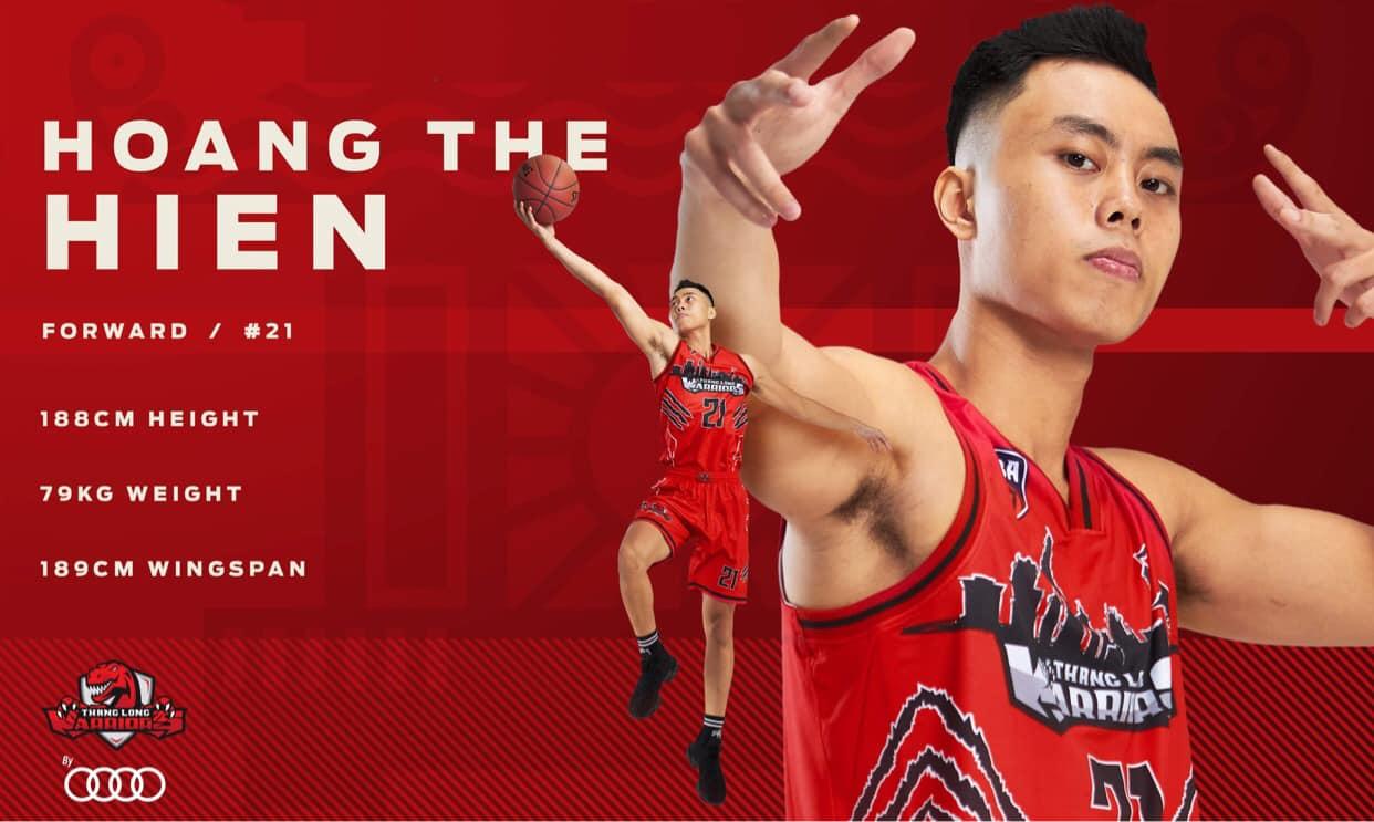 Đội hình chính thức ở VBA 2020 của Thang Long Warriors 5