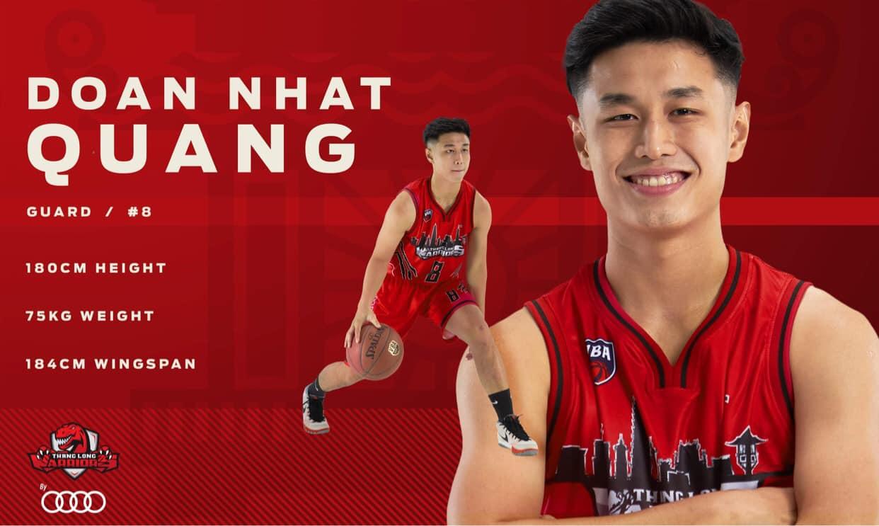 Đội hình chính thức ở VBA 2020 của Thang Long Warriors 6