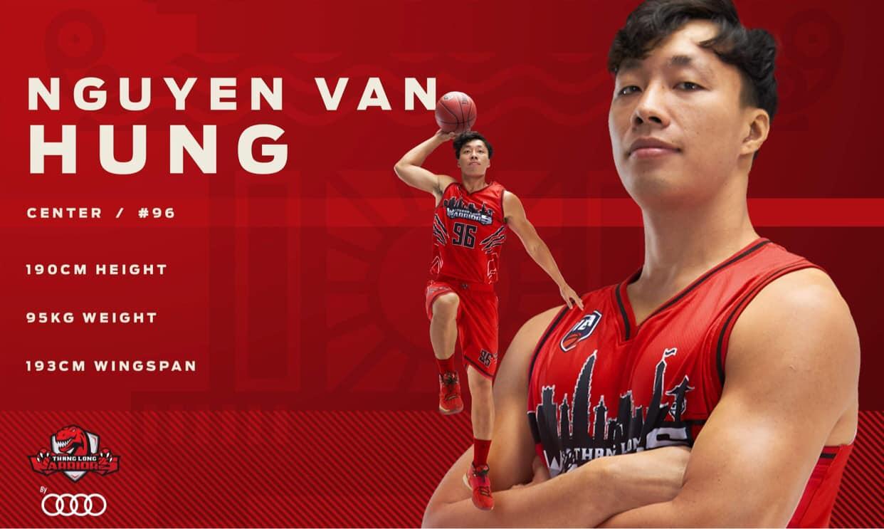 Đội hình chính thức ở VBA 2020 của Thang Long Warriors 7