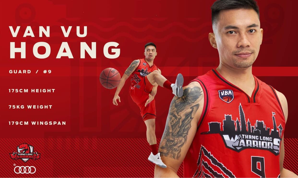 Đội hình chính thức ở VBA 2020 của Thang Long Warriors 11