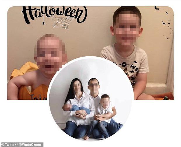 Bức ảnh đã được xóa cậu con riêng mà người mẹ kế đăng trên trang cá nhân.