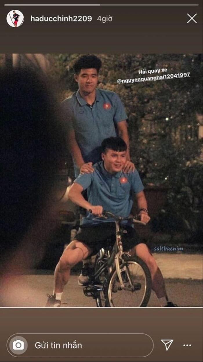 Cầu thủ Quang Hải cũng bị 'réo tên' không ít lần kể từ khi câu nói này xuất hiện.