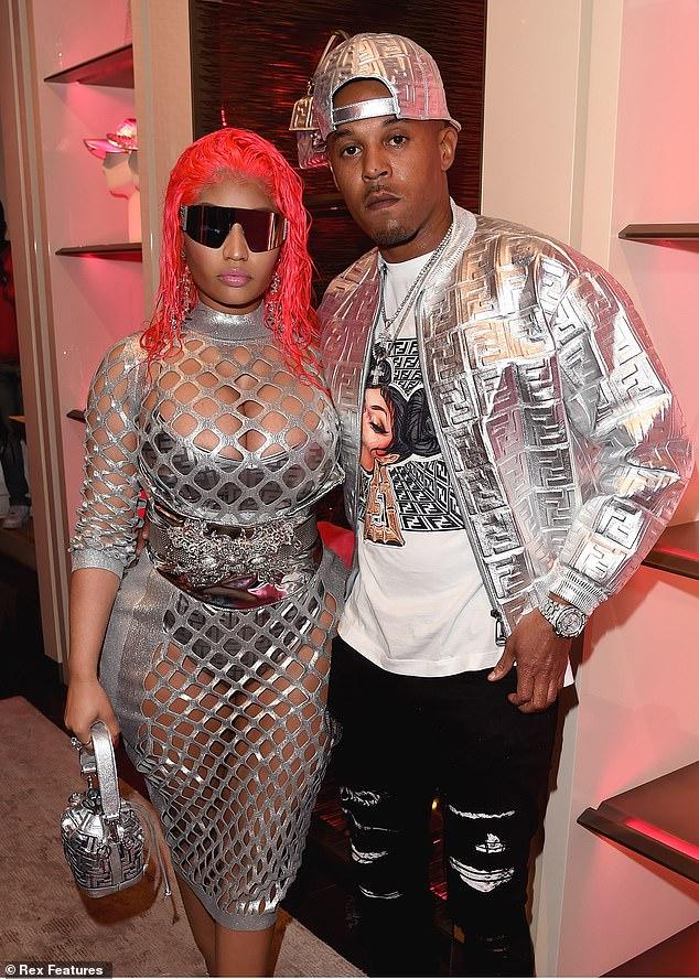 Nicki Minaj hạnh phúc bên chồngKenneth Petty