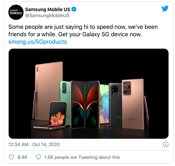 Samsung 'cà khịa' Apple vì không bán iPhone 12 kèm cục sạc, tai nghe 4