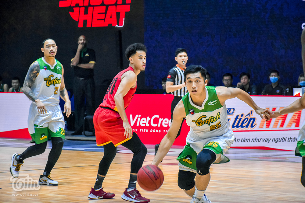Photo Story: Saigon Heat thắng đậm Cantho Catfish trong trận 'tái đấu' 2