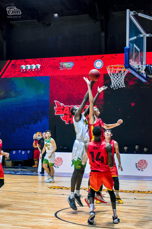Photo Story: Saigon Heat thắng đậm Cantho Catfish trong trận 'tái đấu' 7