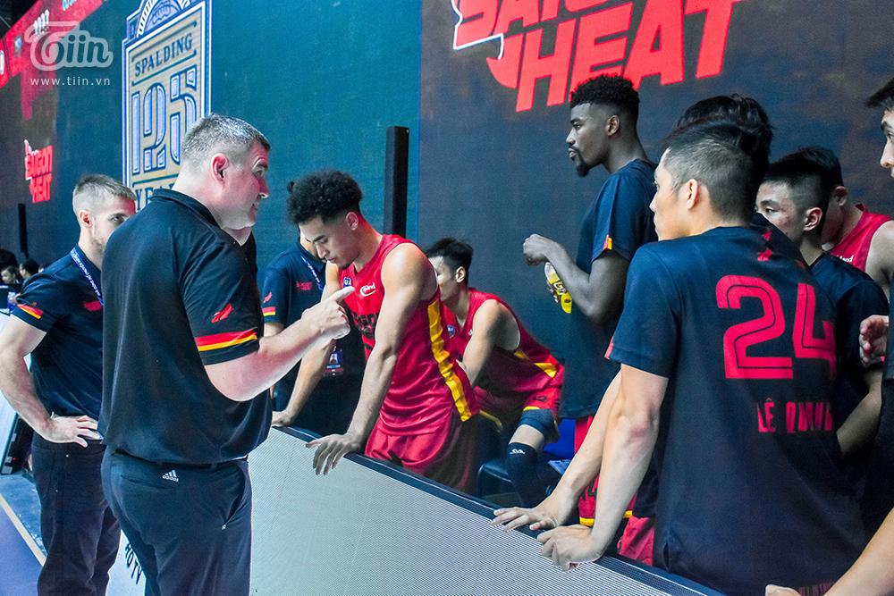 Photo Story: Saigon Heat thắng đậm Cantho Catfish trong trận 'tái đấu' 16