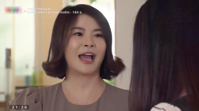 Mái tóc vểnh như chính cái nết của cô Linh vậy!