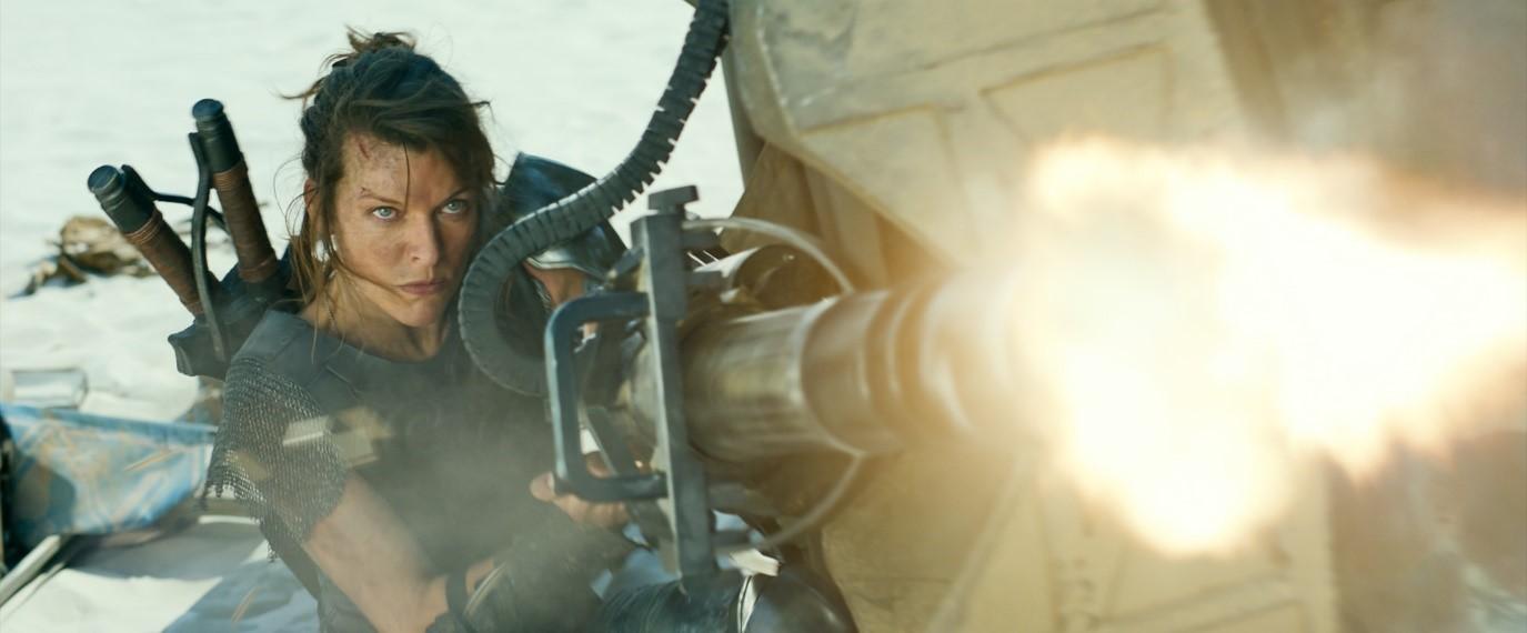 Milla Jovovich săn quái vật siêu to khổng lồ cùng siêu sao võ thuật Thái Lan Tony Jaa 1