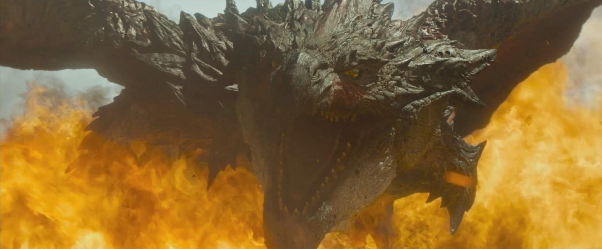 Quái vật Rathalos khổng lồ xuất hiện trong trailer đầu tiên của Thợ Săn Quái Vật (Monster Hunter).