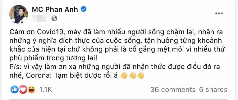 Một thời gian dài mất tích khỏi showbiz, hiện tại cuộc sống MC Phan Anh thế nào? 3